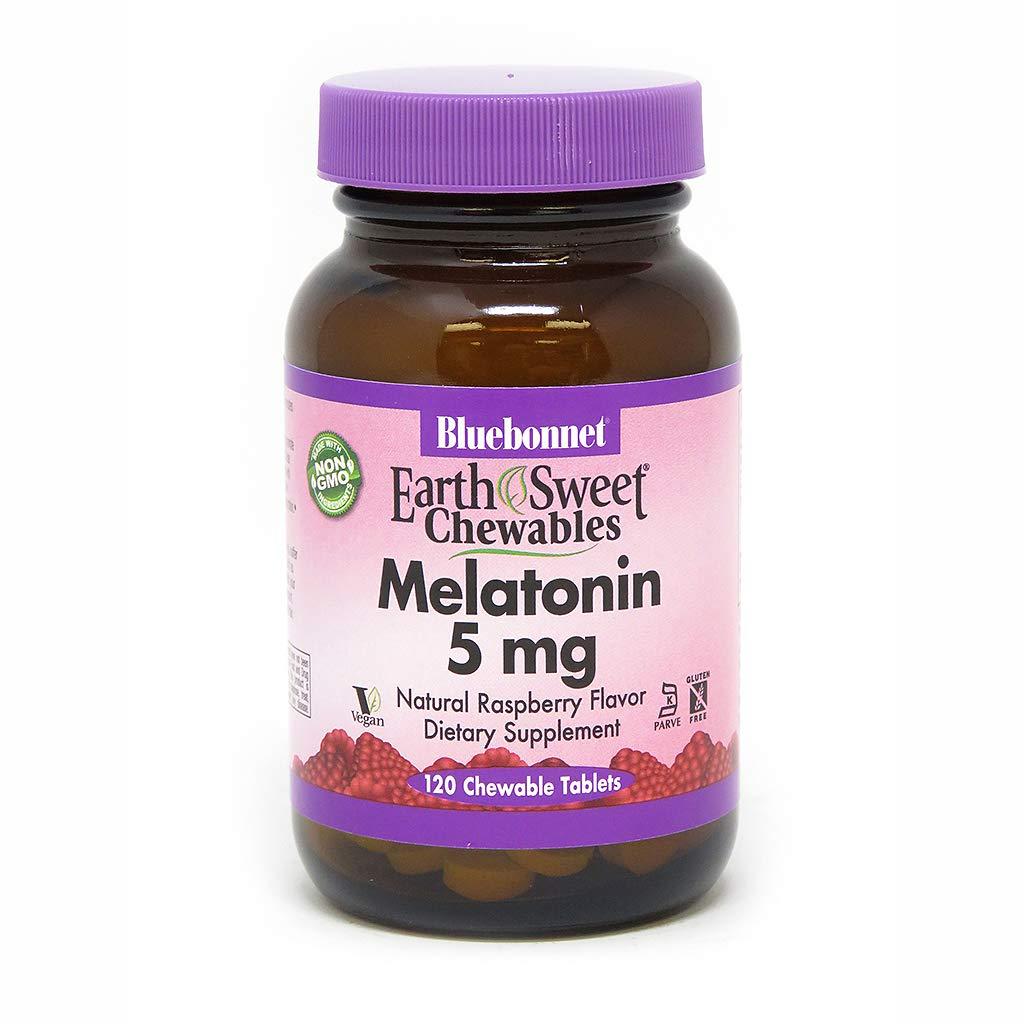 BLUEBONNET Nutrition EARTHSWEET CHEWABLES MELATONIN 5 mg