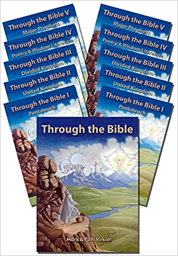 BUNDLE: Through the Bible Old Testament Complete Discounted Package - Mark Virkler - 1 book, 5 DVDs and 5 CDs