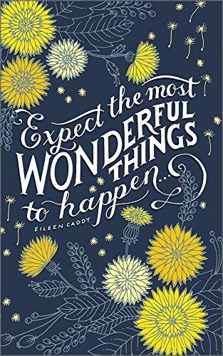 Expect the most wonderful things to happen133;(Write Now Journal)