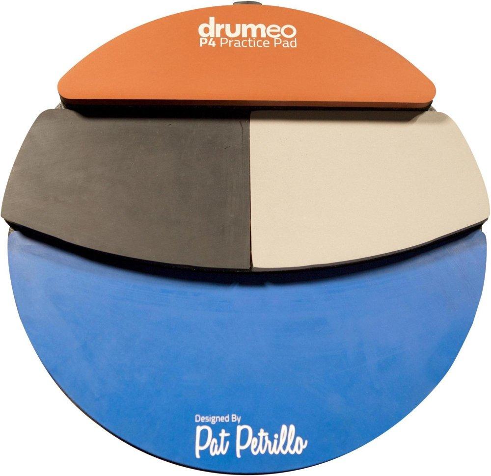 Drumeo P4練習用パッド 4種類のプレイ面 1 pc  B01IRNGWDK
