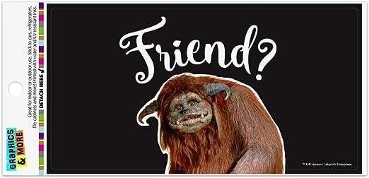 Friend Ludo From The Labyrinth Circle Bumper Window Sticker