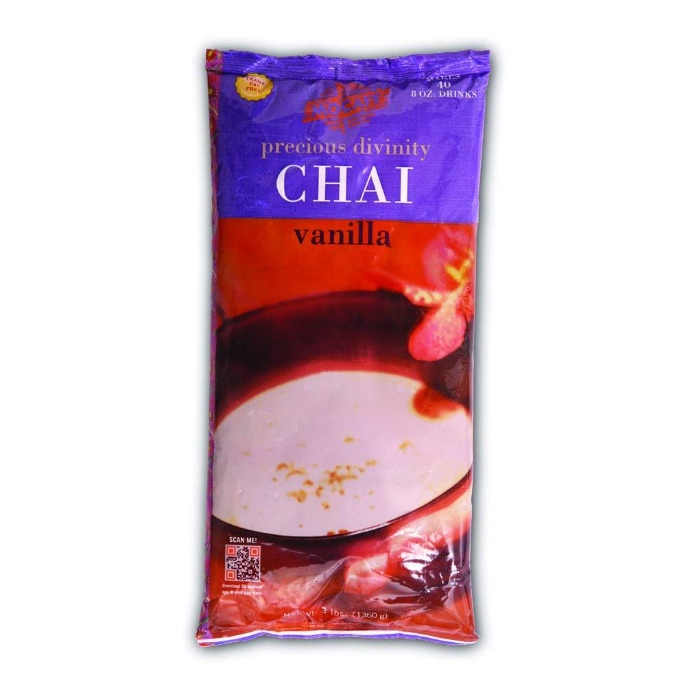 Mocafe Precious Divinity Vanilla Chai Latte, 3 Pound -- 4 per case.