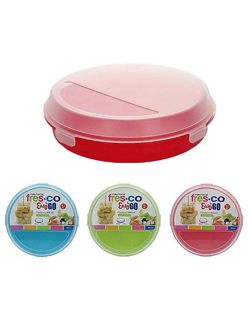 Portatortillas Circular de 20cm para ensaladas/Tortillas. Diseño Colorido - Hogar y más - B Hogar y Mas