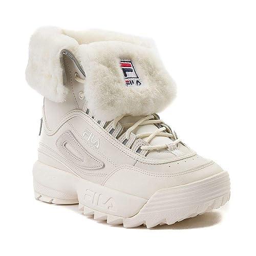 8b838b3b Fila Disruptor Shearling Boots - Womens