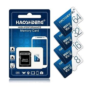 BAIYI Tarjeta Microsd con Adaptador Tarjeta de Memoria Microsdxc ...