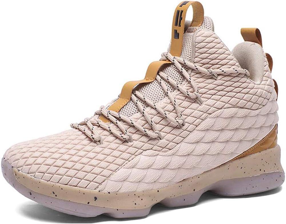 TAZAN Sneaker De Hombre Deporte De Baloncesto Ligeras Al Aire Libre Moda High-Top Antideslizante Zapatillas De Sports Ligeros Zapatos Para Correr Transpirable Black Blue(4 Color) 36-45EU: Amazon.es: Ropa y accesorios
