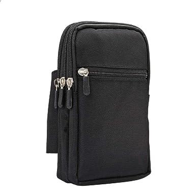 Amazon.com: DFV mobile - Funda Multiusos con 4 Compartimentos para Cinturon para=> FUJITSU Arrows TAB V567/P > XXL Negra (19 x 11.5 cm): Cell Phones & ...