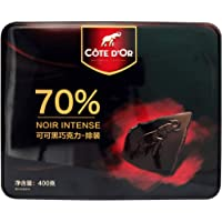 Cote D'or 克特多金象 真味70%特醇浓黑巧克力礼盒装 (100g*4)400g(比利时进口)