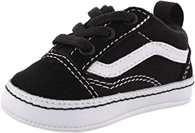 Vans Old Skool Infant Crib Shoes Black/True White