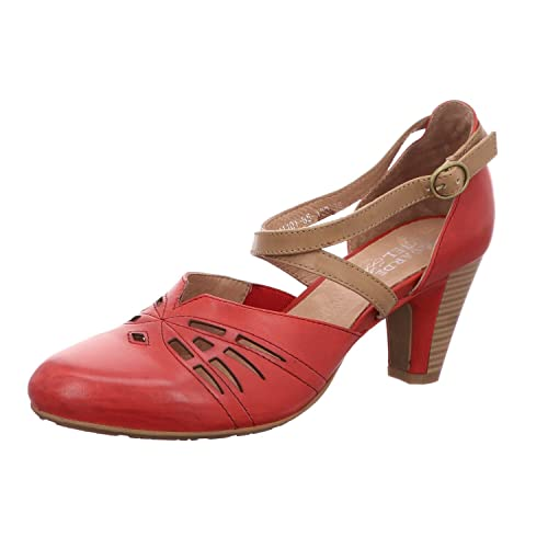 regarde le ciel Damen Pumps MADRID11 3466 rot 443510: Amazon