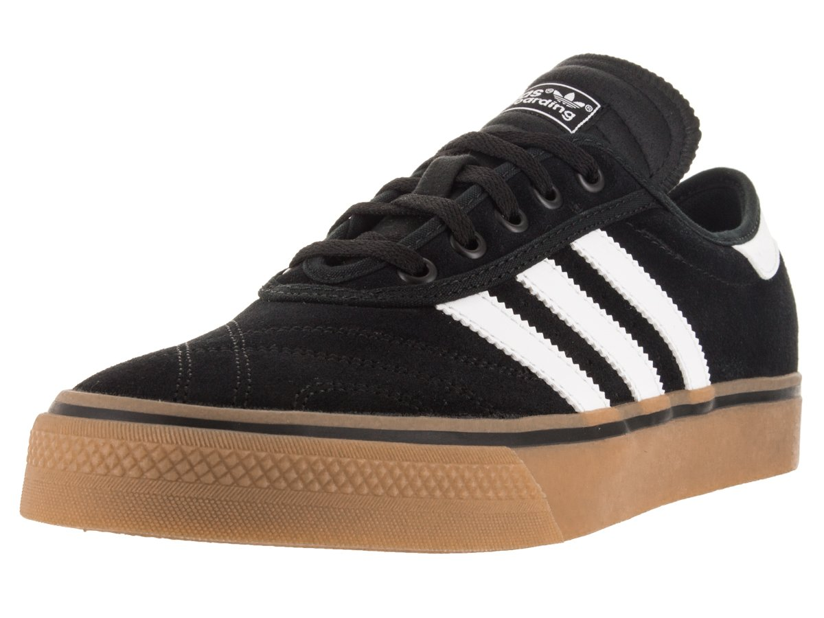 adidas Originals Men's Shoes | Adi-Ease Premiere Fashion Sneakers -, Black/White/Gum, (5 M US)