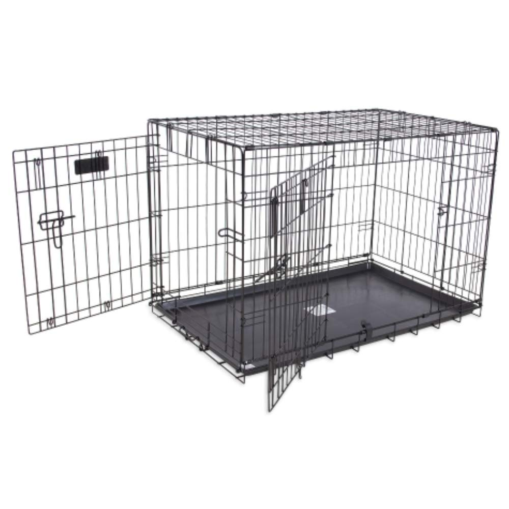 Petmate ''ProValu'' Wire Dog Crate, Two Doors, Precision Lock System, 6 Sizes by Petmate