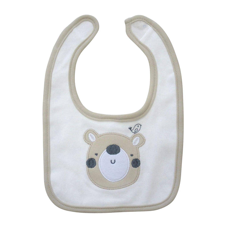 Bodysuit Babyausstattung 0-3 Monate Baumwoll-Schlafanzug Jungen oder M/ädchen Ecru M/ütze und L/ätzchen Geschenkset