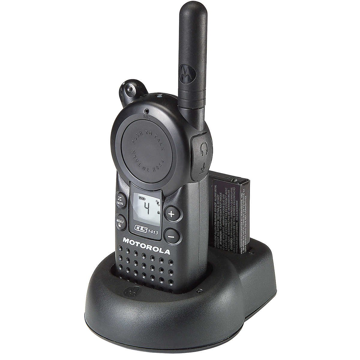 Motorola CLS1413 - UHF 1 Watt 4 Channel Radio(Black)