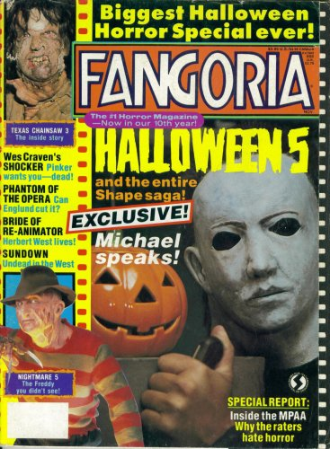 Fangoria Magazine Issue #88: Halloween 5 (November -