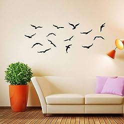 1 Sheet Wall Sticker New Seagulls Sea Birds Wall Decal Mild Art Paper DIY Insist for
