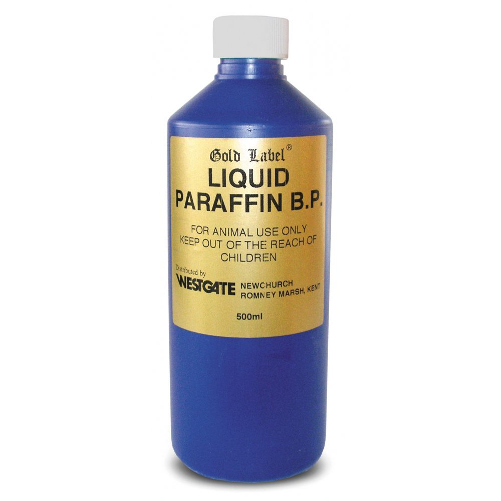 Gold Label Liquid Paraffin B.P Maintains a Healthy Bowel in Horses ... for liquid paraffin for constipation  56bof