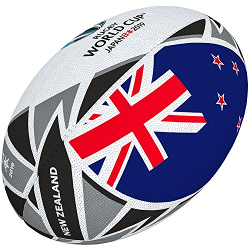 Gilbert Rugby World Cup 2019 Flag Ball - New Zealand (All The Flags Of The World Cup)
