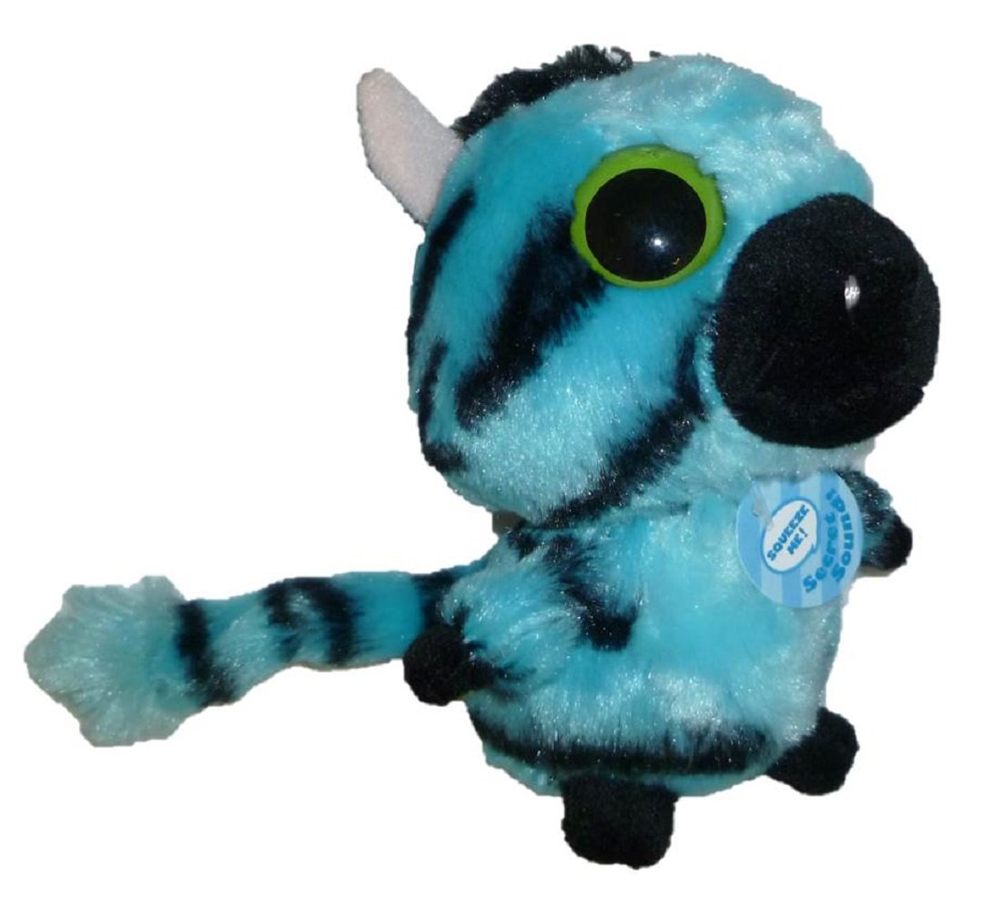 Aurora 5 YooHoo /& Friends Stripee Plush Zebra BLUE 29020
