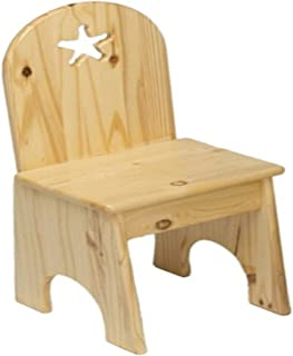 product image for Little Colorado Solid Back Chair (Natural - Star)