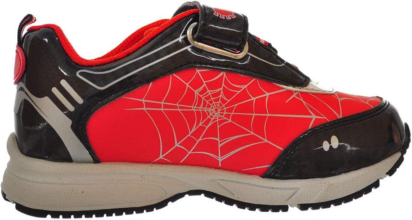 Toddler//Little Kid Favorite Characters Boys Marvel Spider-Man Lighted Sneaker