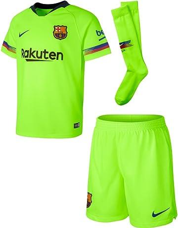 6a3bf336966 adidas Children s Manchester United Home Mini Kit · Nike 2018-2019  Barcelona Away Little Boys Mini Kit