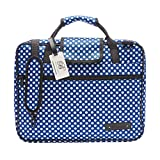 Beaumont Sheet Music Bag Music Satchel - Blue Polka Dot
