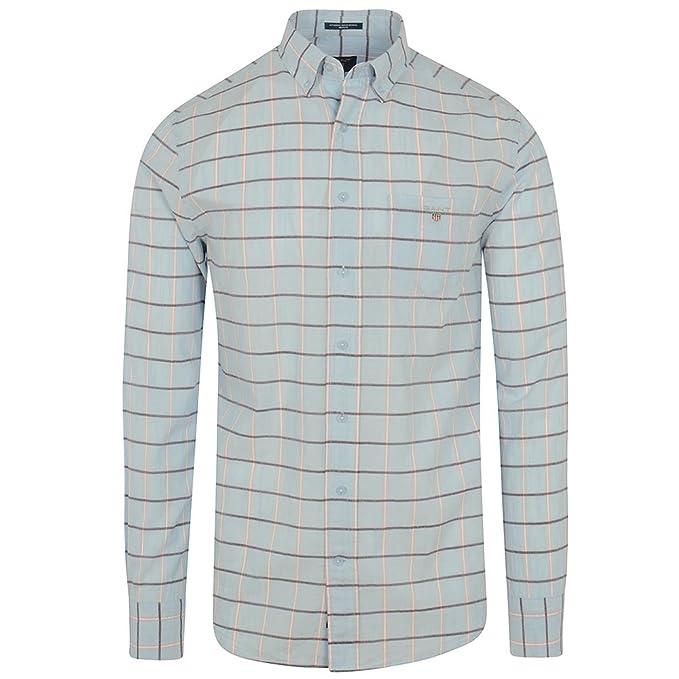 GANT - Camisa Casual - con Botones - Manga Larga - para Hombre ...