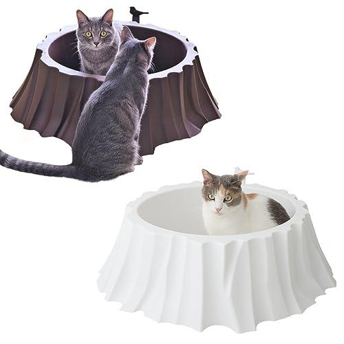 IDOG&ICAT オリジナル 切り株の猫トイレット