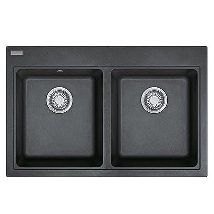 Franke 114.0302.317 granito lavello cucina con doppio, colore ...