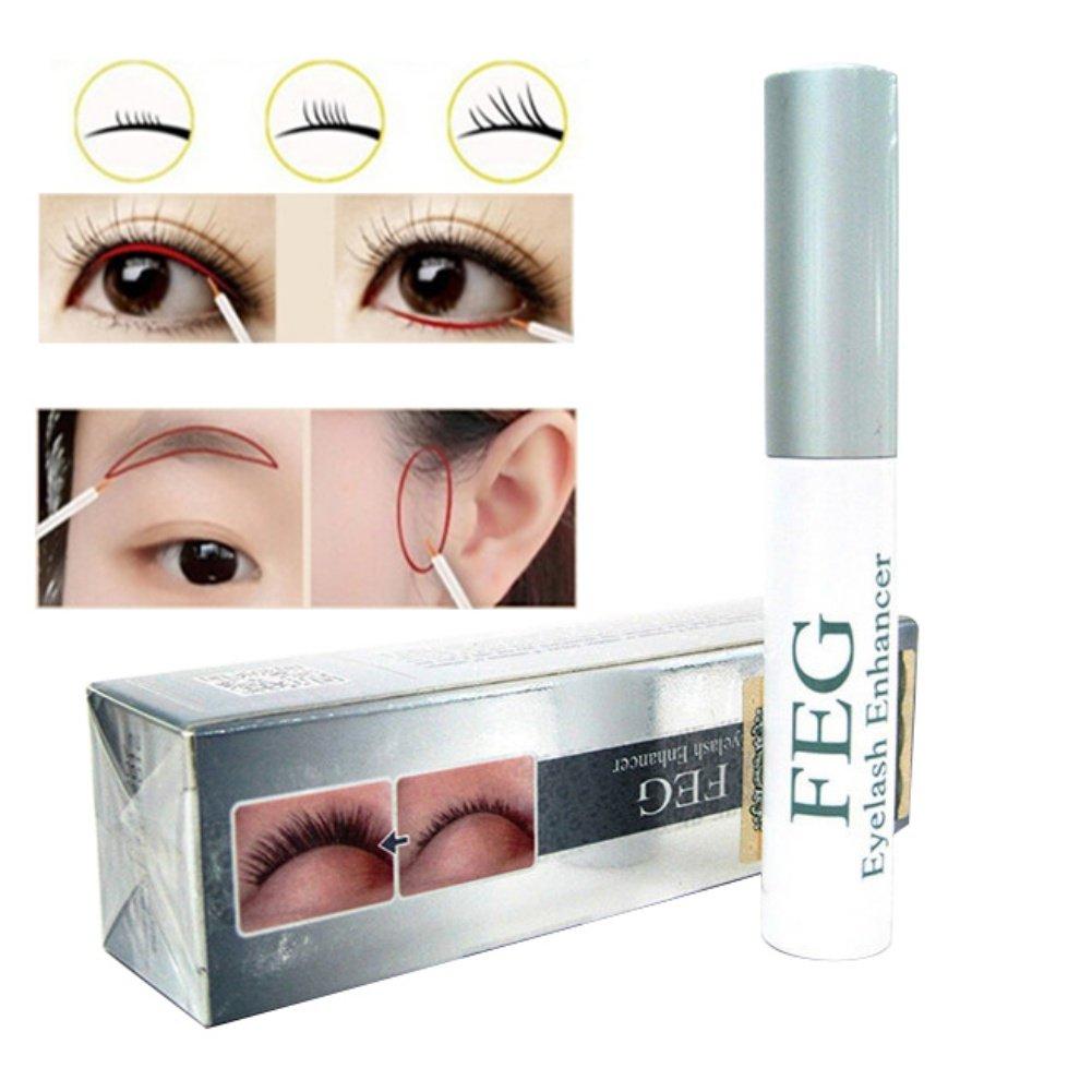 ed7526d67b3 Amazon.com: Eyelash Enhancer Eye Lash Rapid Growth Enhancing Serum Liquid  100% Original LWEM Natural Eye Brow Growth Nourishing for Longer & Darker  Eyebrow ...