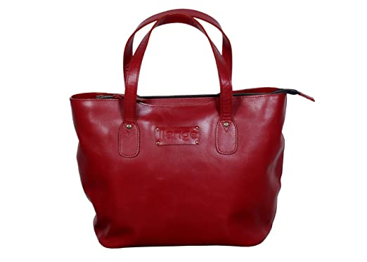 l'ange maroon shoulder branded genuine pure leather bag for women ...