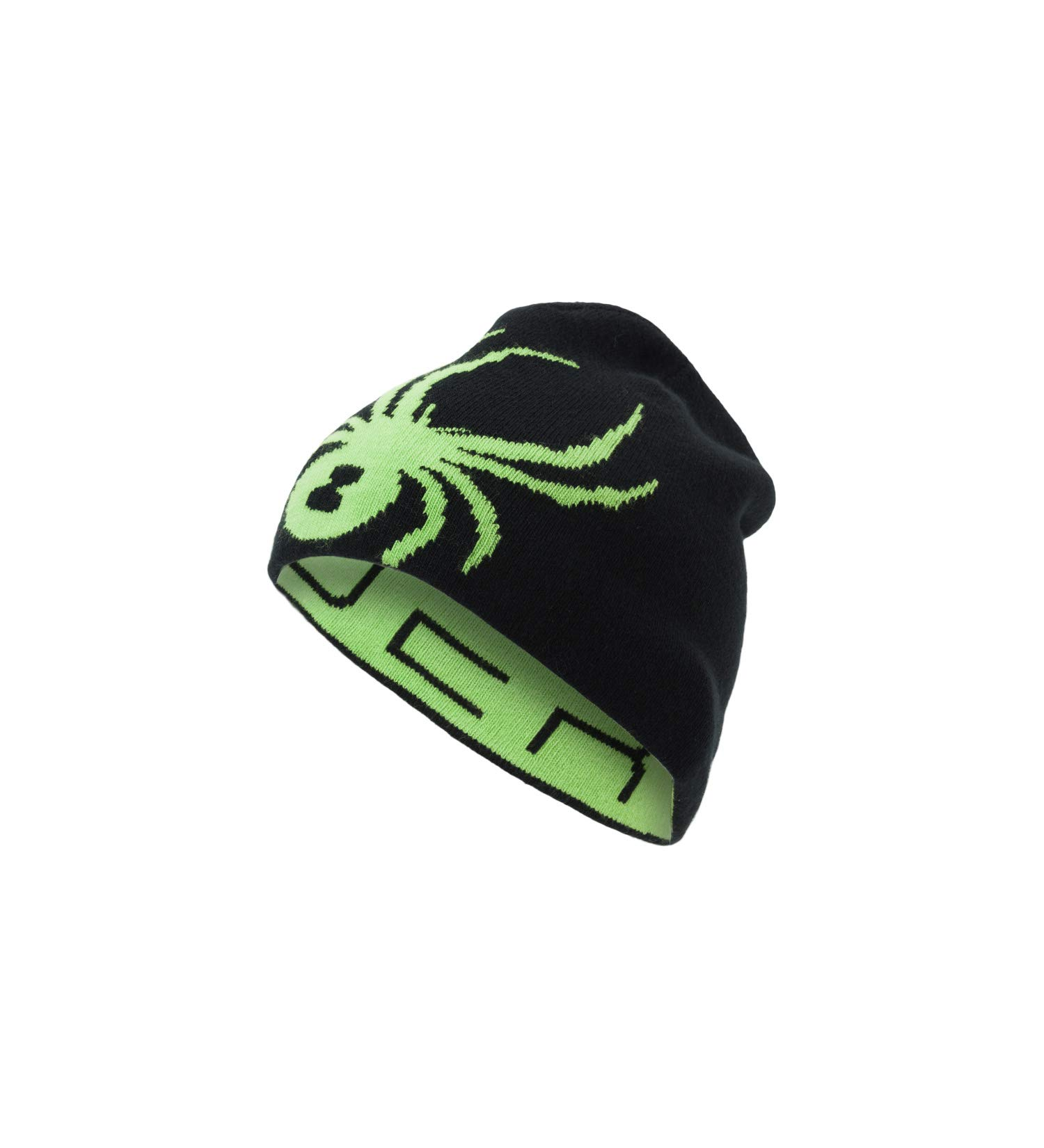 Spyder Boys' Reversible Bug Hat, Fresh/Black, One Size