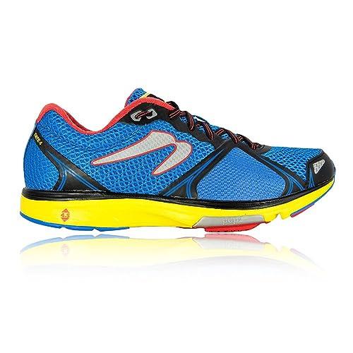 newtonrunning Fate 4, Zapatillas de Running para Hombre, Azul (Blue/Red 001), 39 EU: Amazon.es: Zapatos y complementos