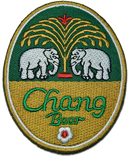 chang-beer-patch-patch-sew-iron-on-logo-embroidered-badge-sign-emblem-costume-by-dreamhigh-skyland