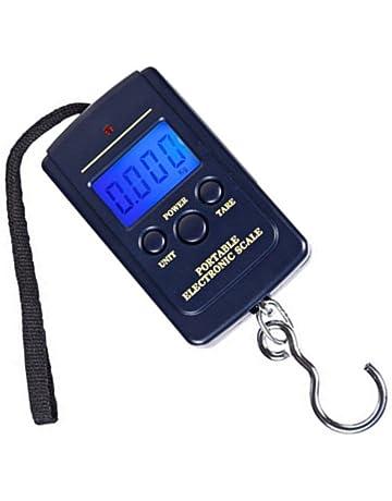 daorier Báscula portátil Báscula de viaje electrónica digital LCD portátil – Báscula Cocina 40 kg Báscula