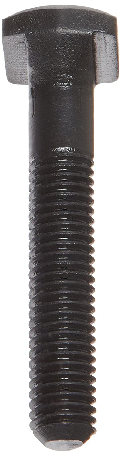 Made in US Carbon Steel T-Bolt 3//8-16 UNC Threads Pack of 2 2 Threaded Length 3 Length Black Oxide Finish Partially Threaded