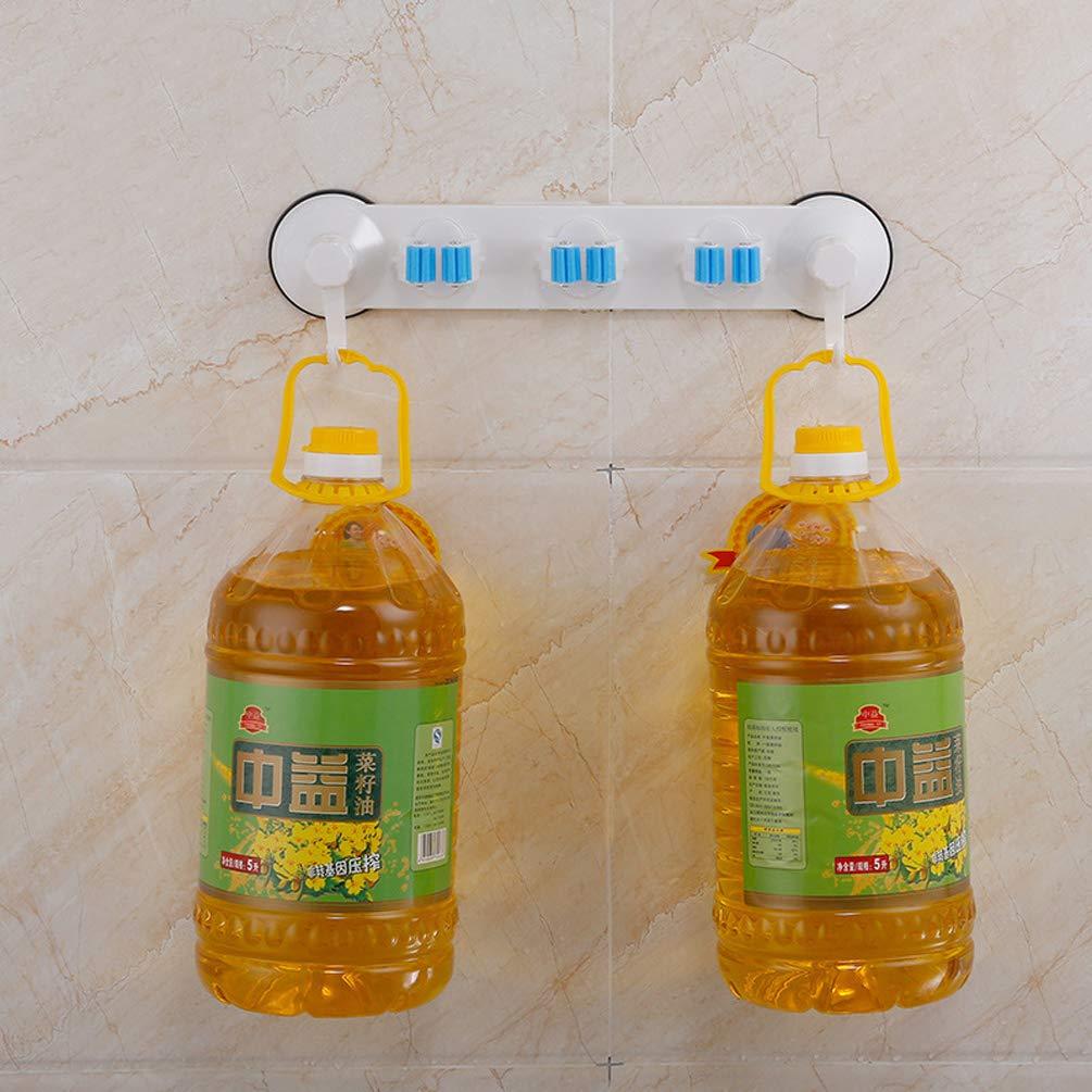 LaVibe Scopa Ventosa Gancio Porta da Appendere alla Parete mop Asciugamano Gancio Posteriore Non Perforati da Bagno con WC cremagliera Pennello utensile da Cucina