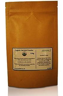 Haritaki en polvo | Certificado orgánico | Haritaki Powder (85g)
