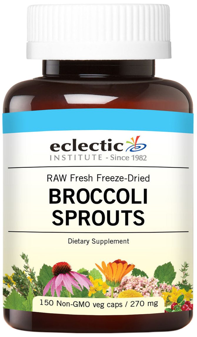 Eclectic Glass Broccoli Sprouts FDV, 150 Count
