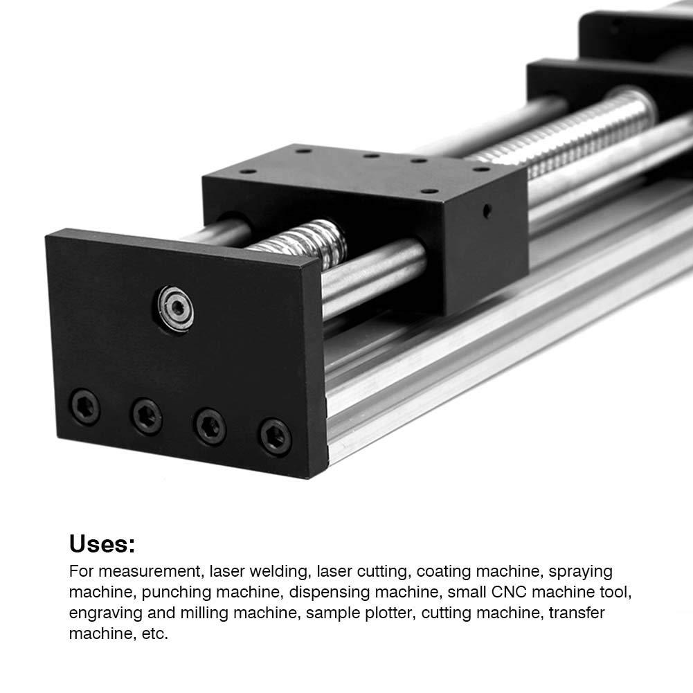Rbaysale - Actuador lineal de viaje de acero inoxidable de 600 mm de longitud para máquina de fresado CNC: Amazon.es: Amazon.es