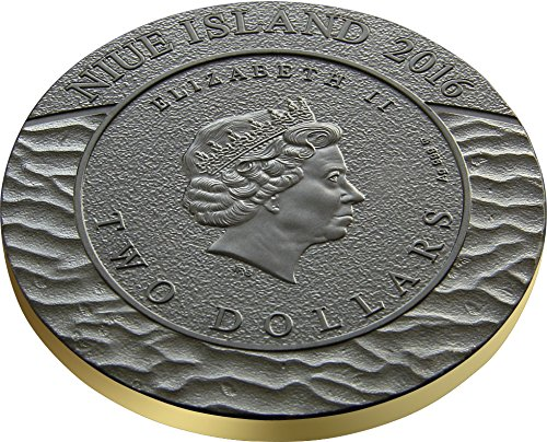 Trilobites Evolution of Earth 2 Oz Silver Coin 2$ Niue 2016