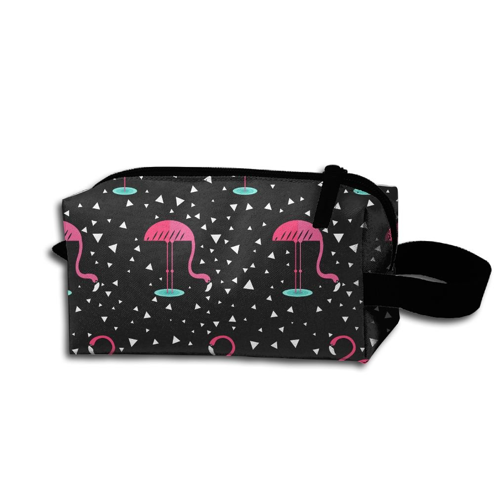 Makeup Cosmetic Bag Colored Animals Zip Travel Portable Storage Pouch For Men Women