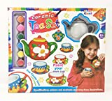 Paint Your Own Mini Tea Set 13 Pieces Ceramic tea Set 'You Create Your Own Teapot'