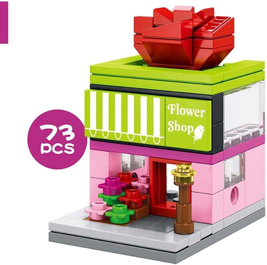 OYTRO New Kids Children Mini Commercial Street View Blocks Toys Set Walking Sticks /& Canes
