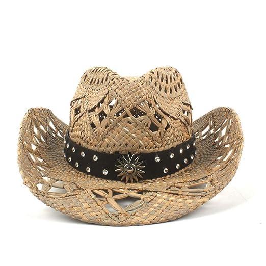 zlhcich Sombreros de Vaquero para Mujer Sombreros de Vaquero para ...