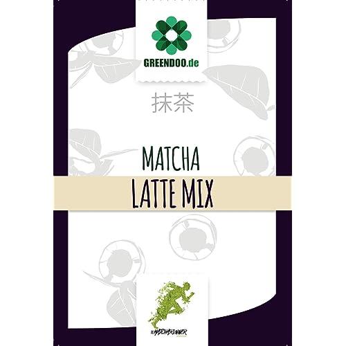 greendoo Matcha Latte Mix - 200g I vegan I fertig gemixt mit Kokosblütenzucker