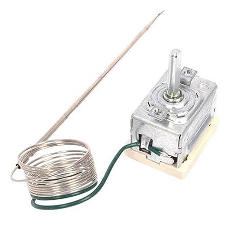 Spares2go Tipo: TE 13500/229 - Termostato para horno cisne: Amazon ...
