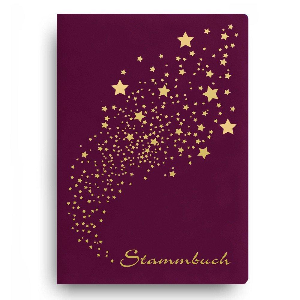 Stammbuch der Familie 'Light' Familienbuch Familienstammbuch Stammbaum Stammbü cher - Standard bordeaux Stammbuchshop