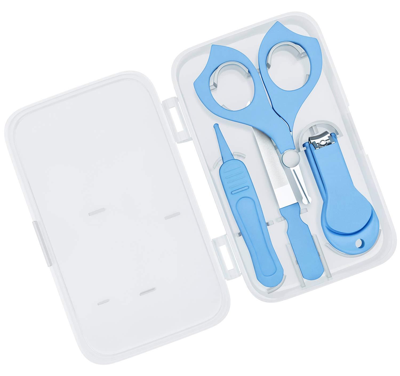 Amazon.com: Bassion - Kit de cuidado de uñas para bebé con ...